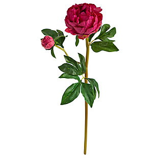 "22"" Peony Artificial Flower (Set of 3), , large"
