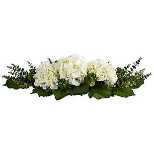 "25"" Hydrangea and Eucalyptus Artificial Arrangement, , large"