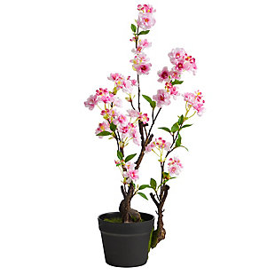 2.5' Cherry Blossom Artificial Plant, , large