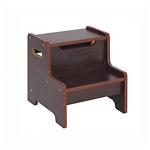 Home Accents Expressions Step Stool Espresso, , large