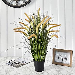"""26"""" Onion Grass Artificial Plant, , rollover"""