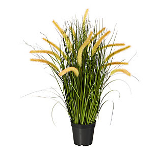 "26"" Onion Grass Artificial Plant, , large"
