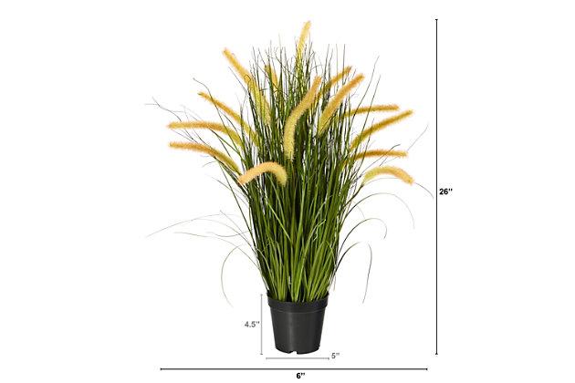"26"" Onion Grass Artificial Plant, , large"