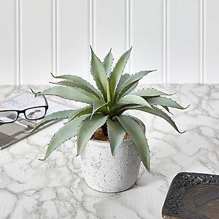 "9"" Aloe Succulent Artificial Plant, , rollover"