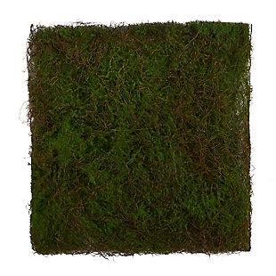 """20"""" x 20"""" Artificial Moss Mat, , large"""