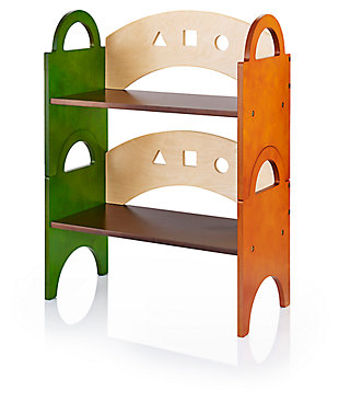 Home Accents See & Store Stacking Bookshelf, , large