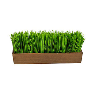 """12"""" Grass Artificial Plant in Decorative Planter, , large"""