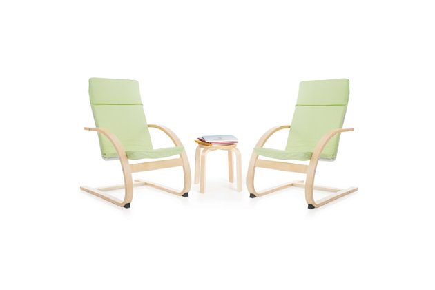 Kiddie Rocker Chairs and Table (Set of 3), , large