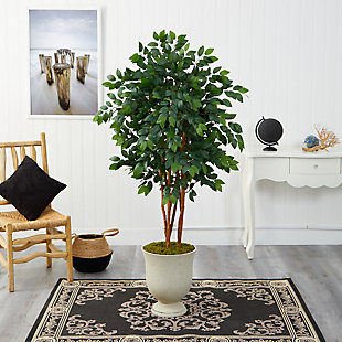 "55"" Sakaki Artificial Tree in Decorative Urn, , rollover"