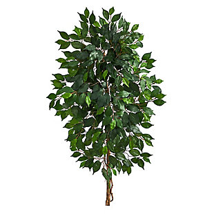 4' Single Ficus Artificial Tree (No Pot), , large