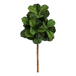 3.5' Fiddle Leaf Artificial Tree (No Pot), , large