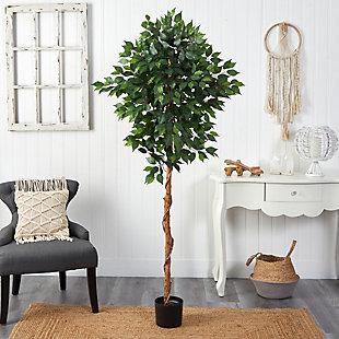 6' Ficus Artificial Tree, , rollover