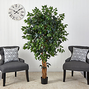 5.5' Palace Ficus Artificial Tree, , rollover
