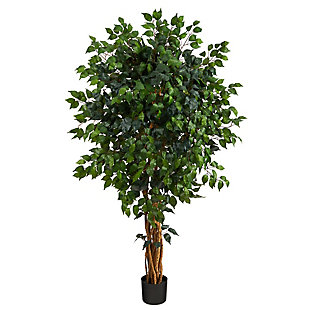 5.5' Palace Ficus Artificial Tree, , large