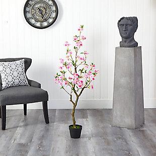 4' Cherry Blossom Artificial Plant, , rollover