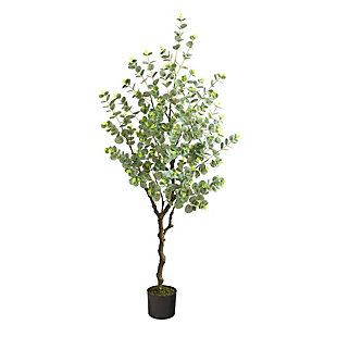 4.5' Eucalyptus Artificial Tree, , large