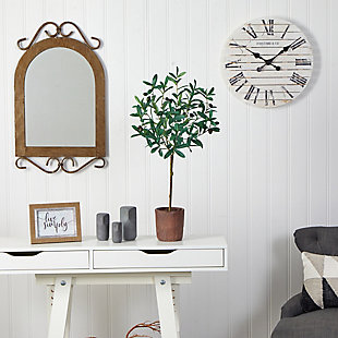 """31"""" Olive Artificial Tree, , rollover"""
