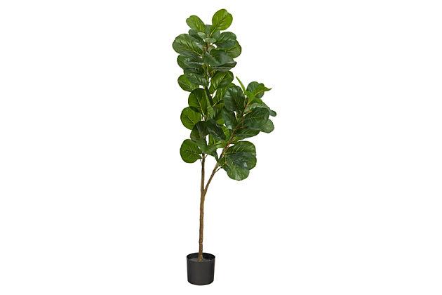 5.5' Fiddle Leaf Fig Artificial Tree, , large