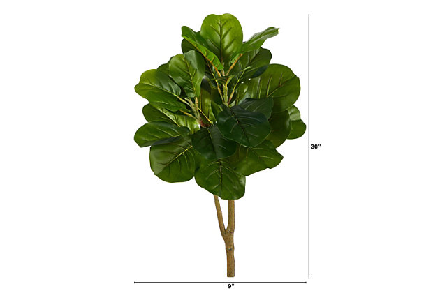 2.5' Fiddle Leaf Fig Artificial Tree, , large