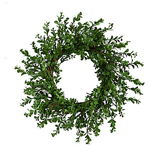 """20"""" Boxwood Artificial Wreath, , large"""