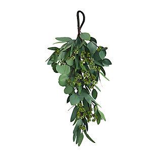 "22"" Eucalyptus and Berry Artificial Teardrop, , large"