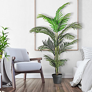 56-inch Palm Tree in a Pot, , rollover