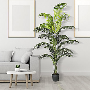 6-foot Palm Tree in a Pot, , rollover