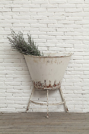 Half Wall Planter on Stand, , rollover