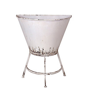 Half Wall Planter on Stand, , large