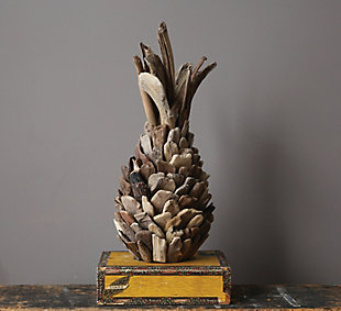 Decorative Driftwood Pineapple, , rollover