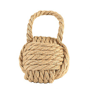 Nautical Rope Knot Door Stop, , large
