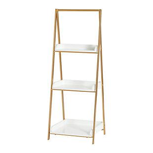 Three Tier A-Frame Open Shelf, , large