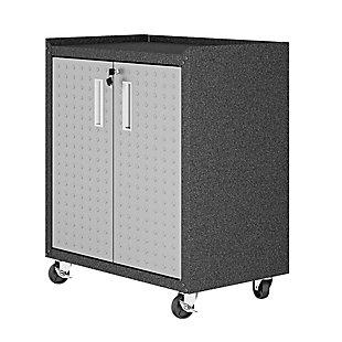 "Manhattan Comfort Fortress 31.5"" Mobile Garage Cabinet with Shelves, , large"