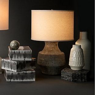 Coco Vessels in White Ceramic (Set of 2), , rollover