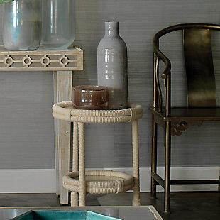 Small Vapor Vase in Metallic Lavender, , rollover