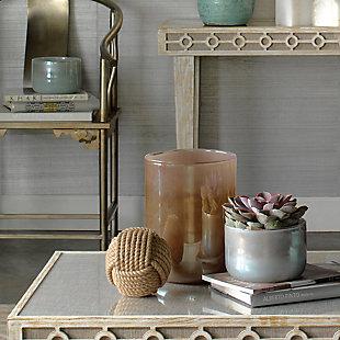 Small Vapor Vase in Metallic Opal, , rollover