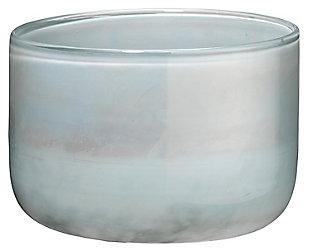 Small Vapor Vase in Metallic Opal, , large