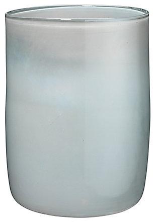 Medium Vapor Vase in Metallic Opal, , large