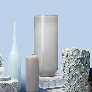 Large Vapor Vase in Metallic Opal, , rollover