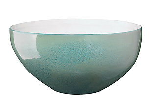 Tripoli Tall Rim Bowl in Ocean Ombre, , large