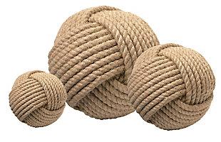 Jute Balls (Set of 3), , large