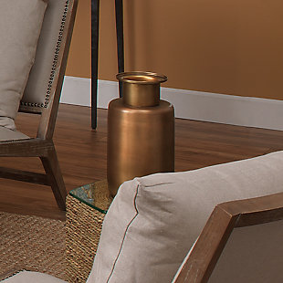 Hera Vase in Antique Brass, , rollover