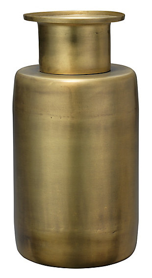 Hera Vase in Antique Brass, , large