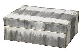 Tie Dye Box in Gray, , large
