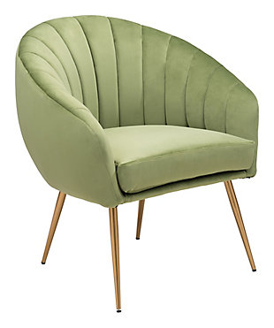 Max Accent Chair, Green, large
