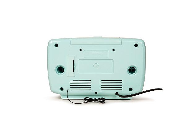 Crosley Corsair Radio CD Player, Aqua Blue, large