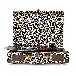 Crosley Cruiser Deluxe Turntable, Leopard, large