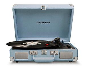 Crosley Cruiser Deluxe Turntable, Tourmaline, large