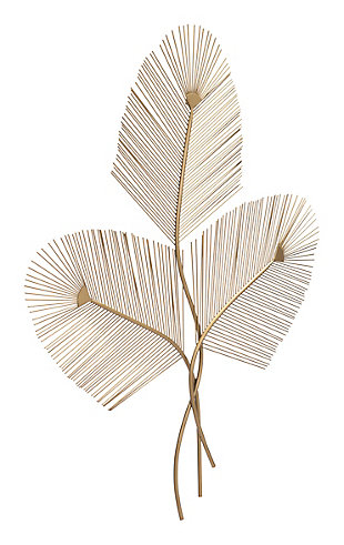 ZUO Zephyr Wall Decor Gold, , large