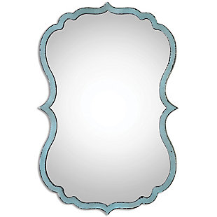 Uttermost Nicola Light Blue Mirror, , large